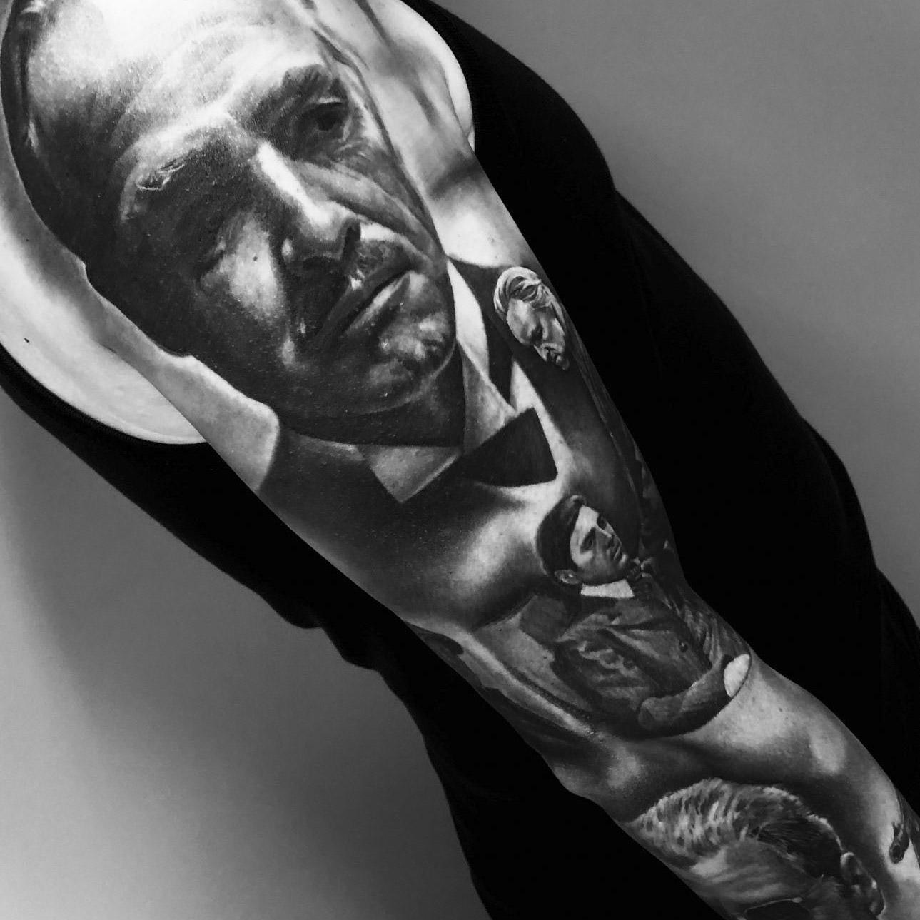 tattoo the godfather door Lilian Dekkers-INK & Art Company
